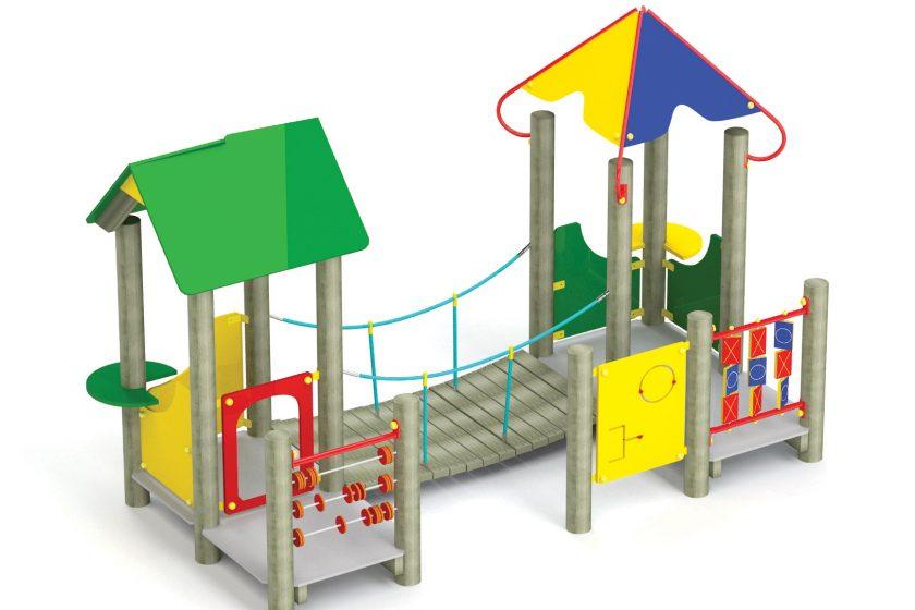 Plac zabaw dla najmłodszych dzieci